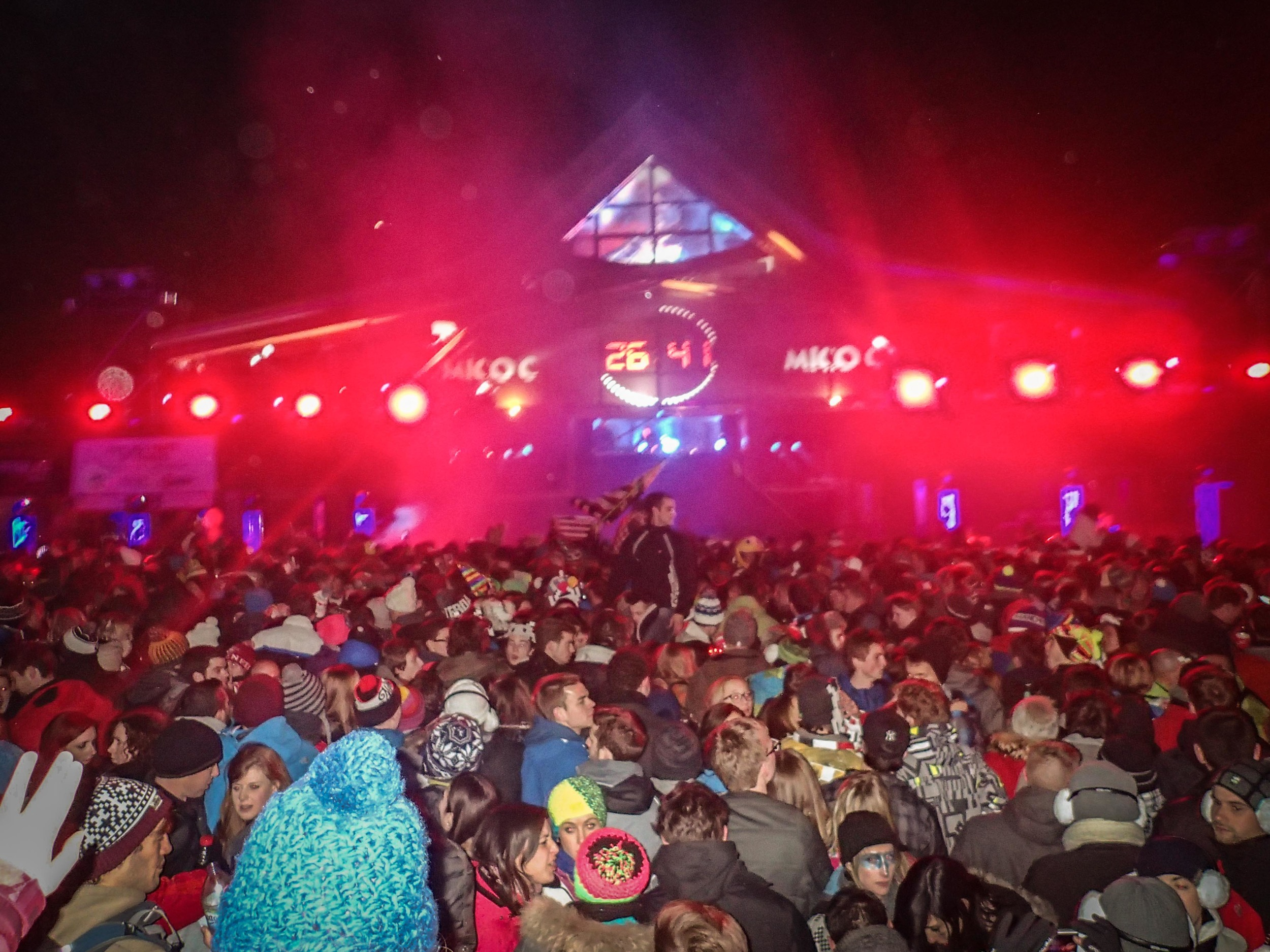 New Years Eve in Tignes - the party is crazy!