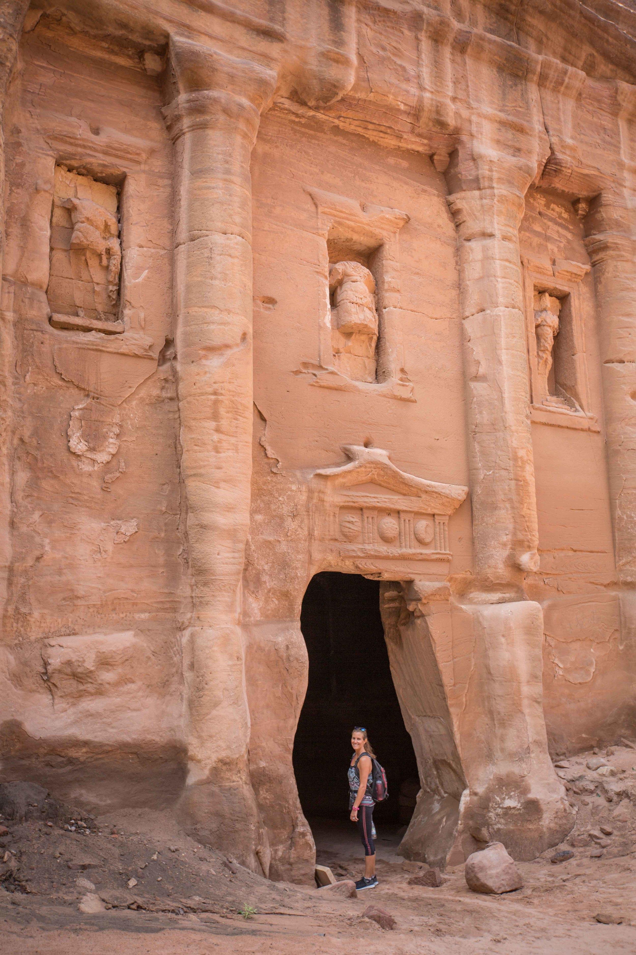 Roman soldier tomb petra