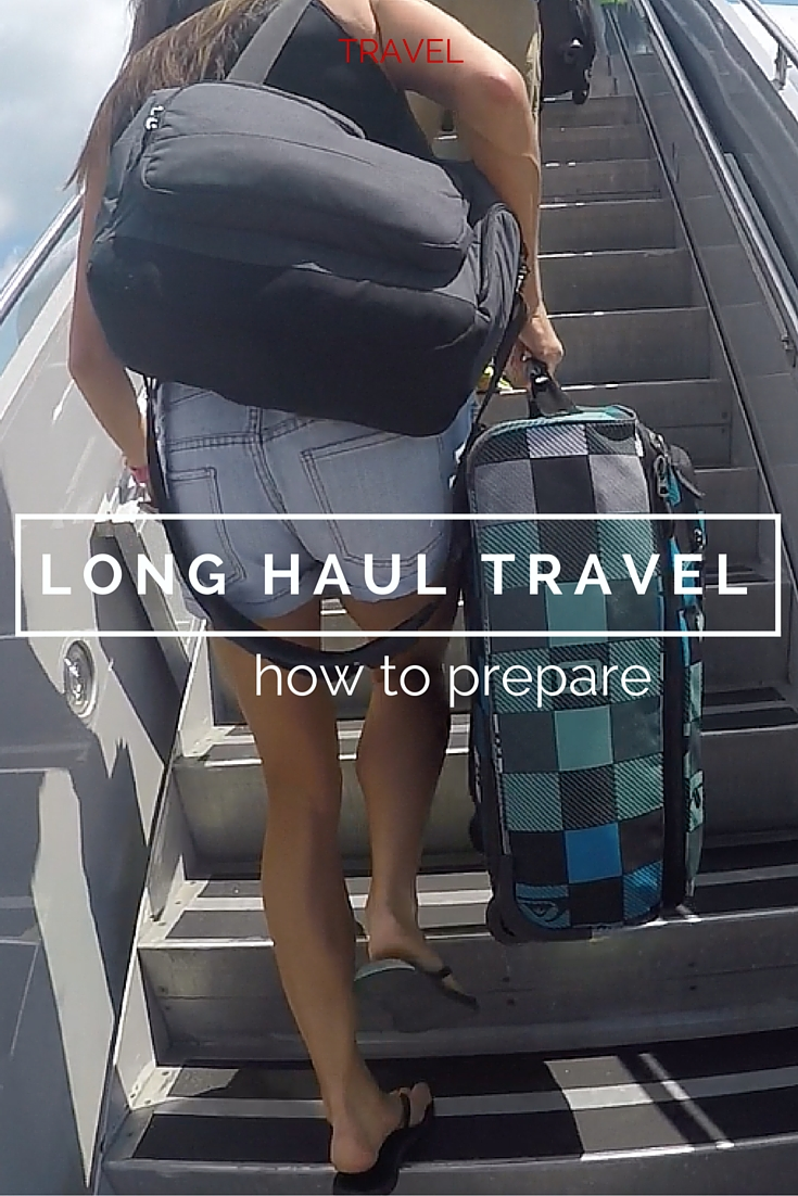 Top tips for flying long haul
