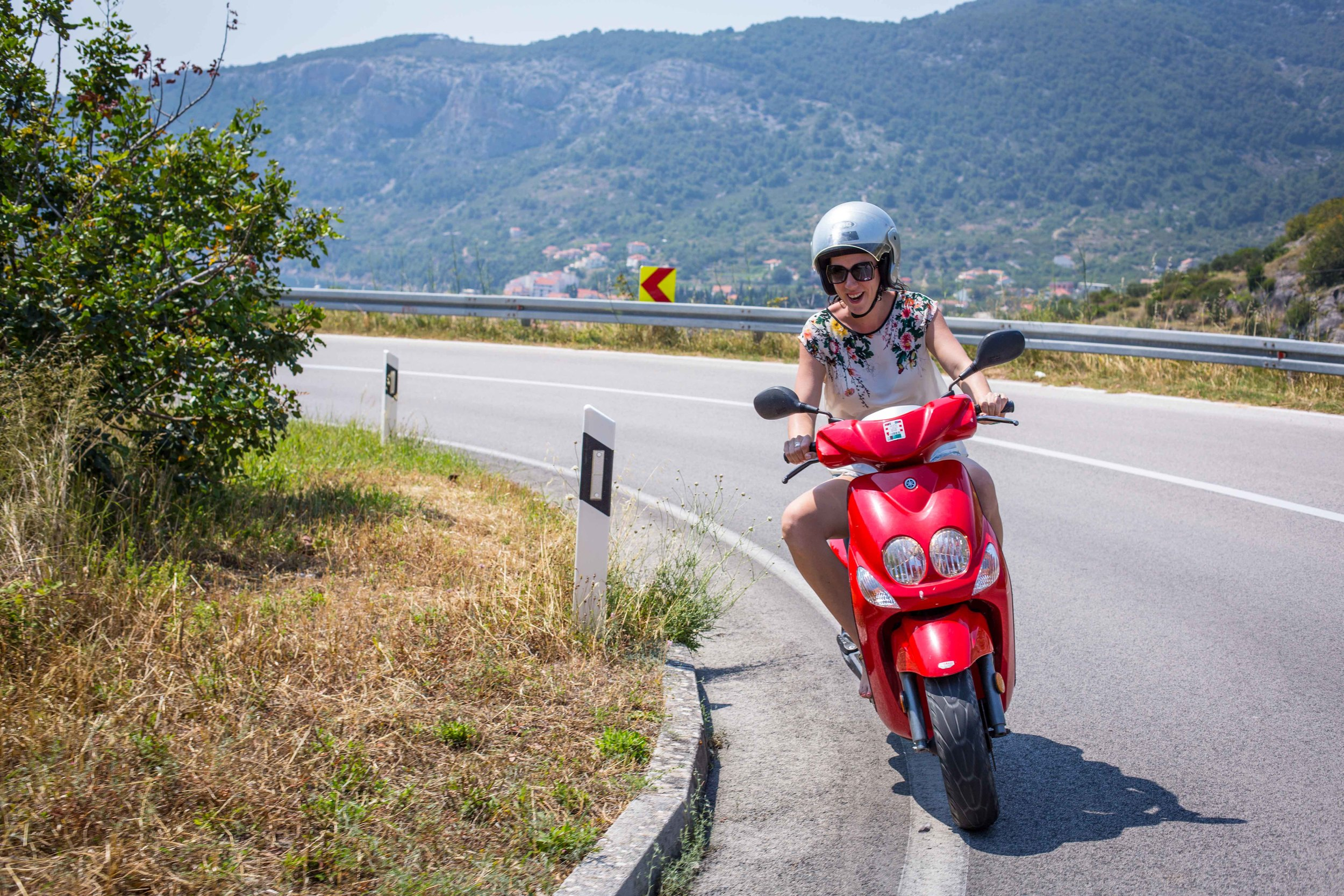 Scooter tour Vis Croatia
