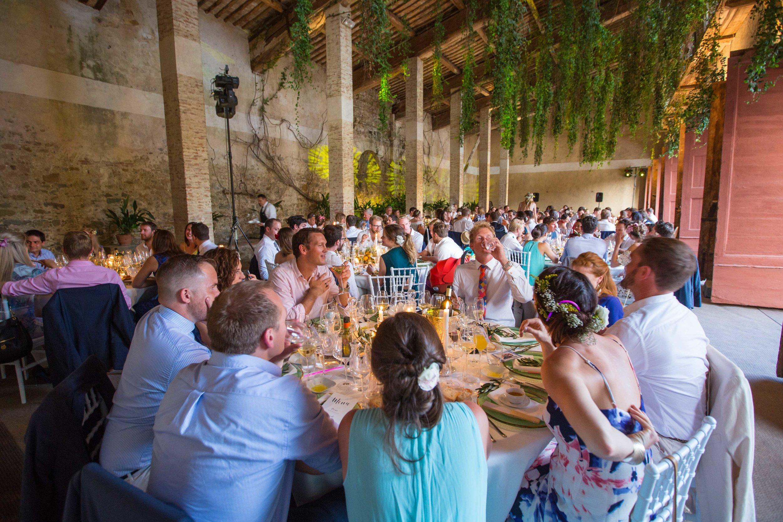 villa grabar wedding reception