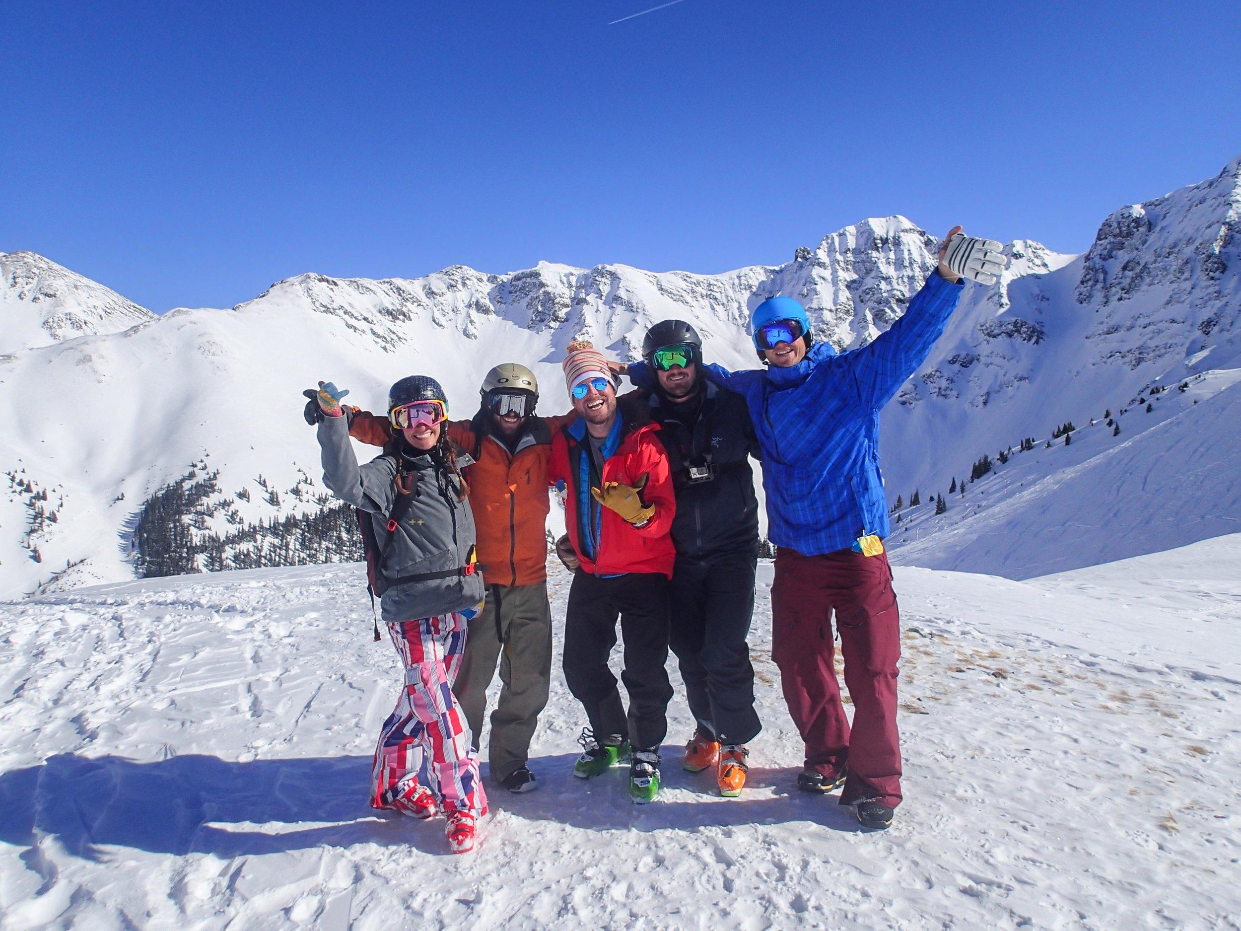 hell skiing Silverton Mountain