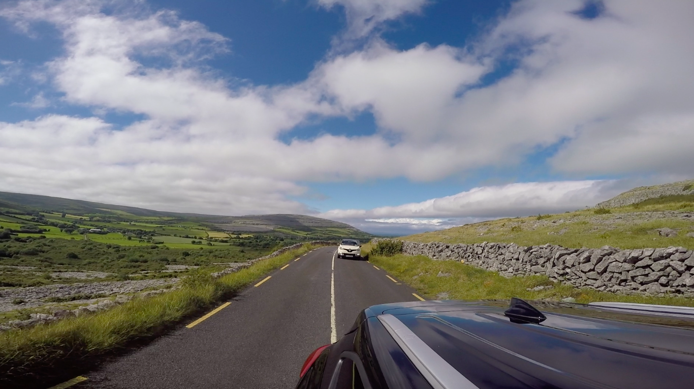 Irish roads - not for the feint hearted!
