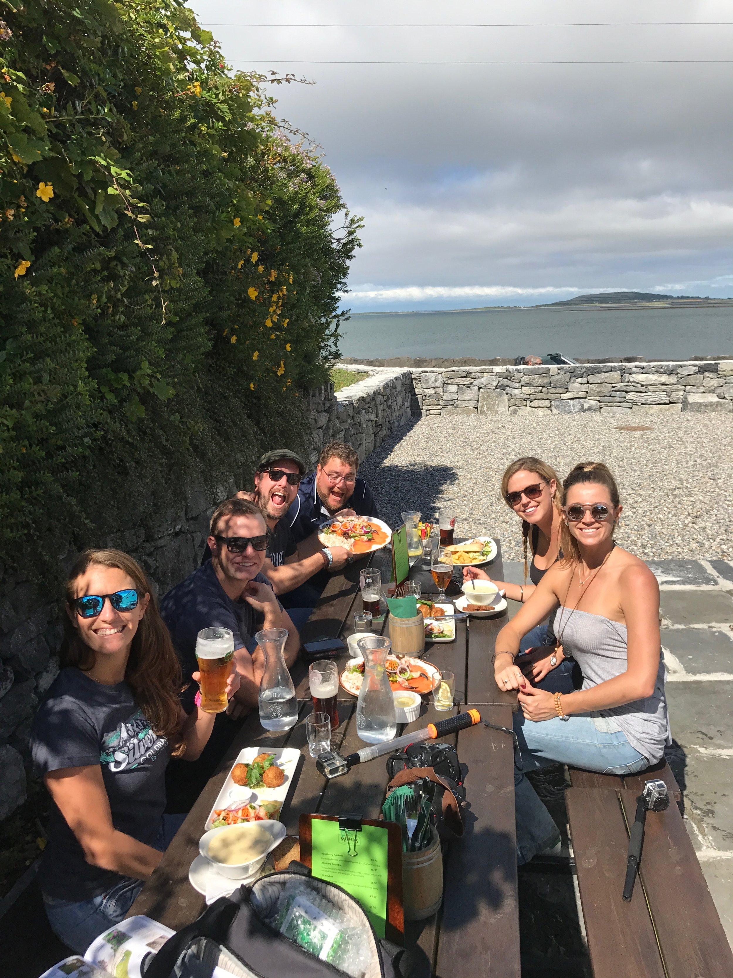 Monks bar and restaurant Ballyvaughan