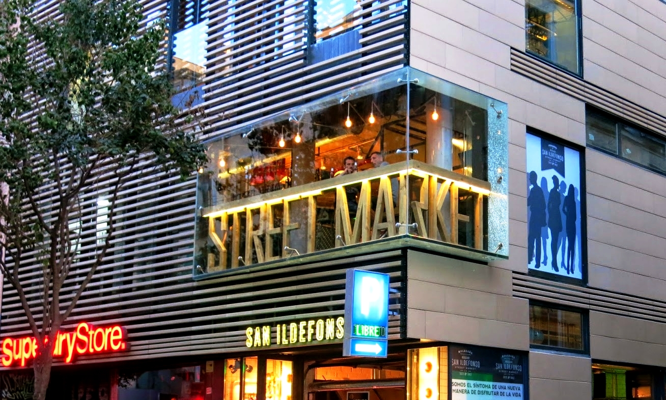 mercado san ildefonso madrid