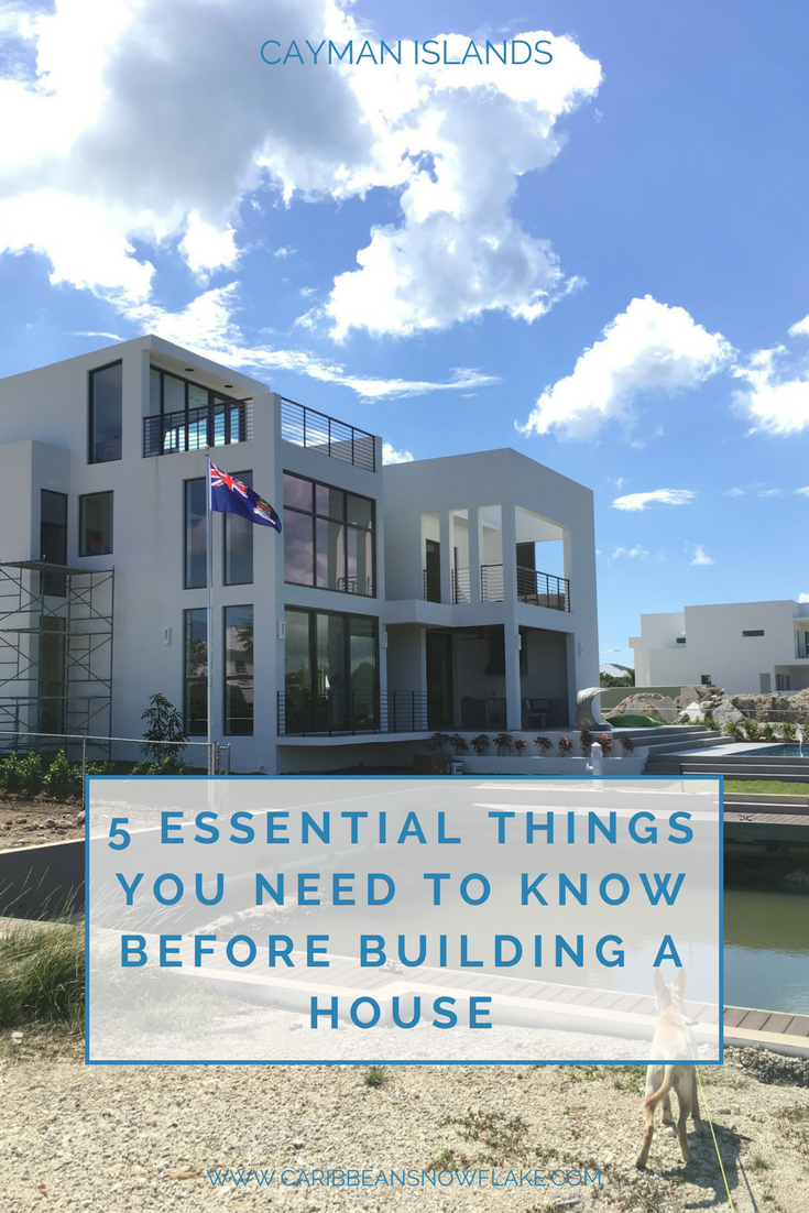 Building a house essential tips