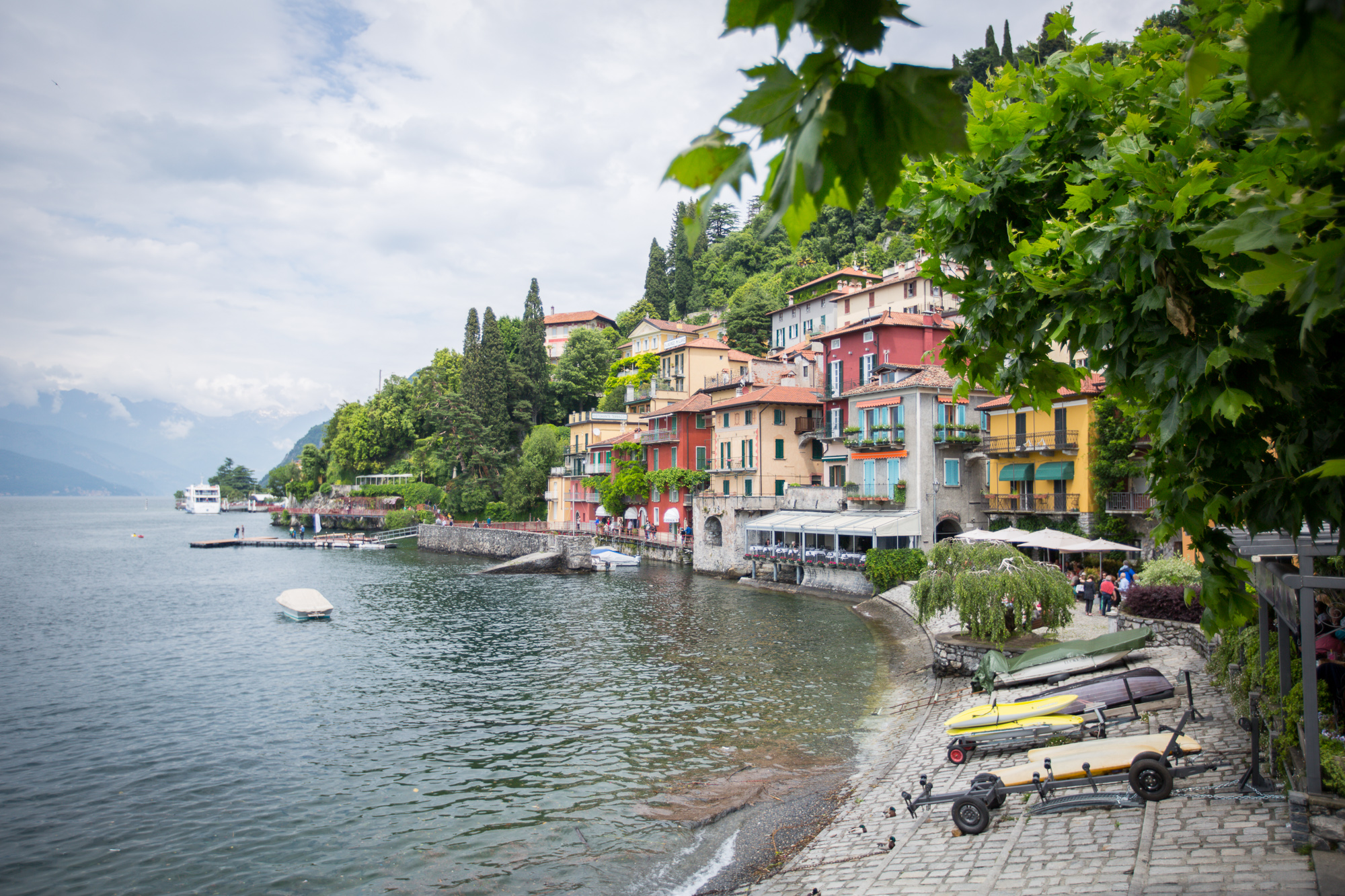 The picturesque town of Varenna, Lake Como www.caribbeansnowflake.com.jpg
