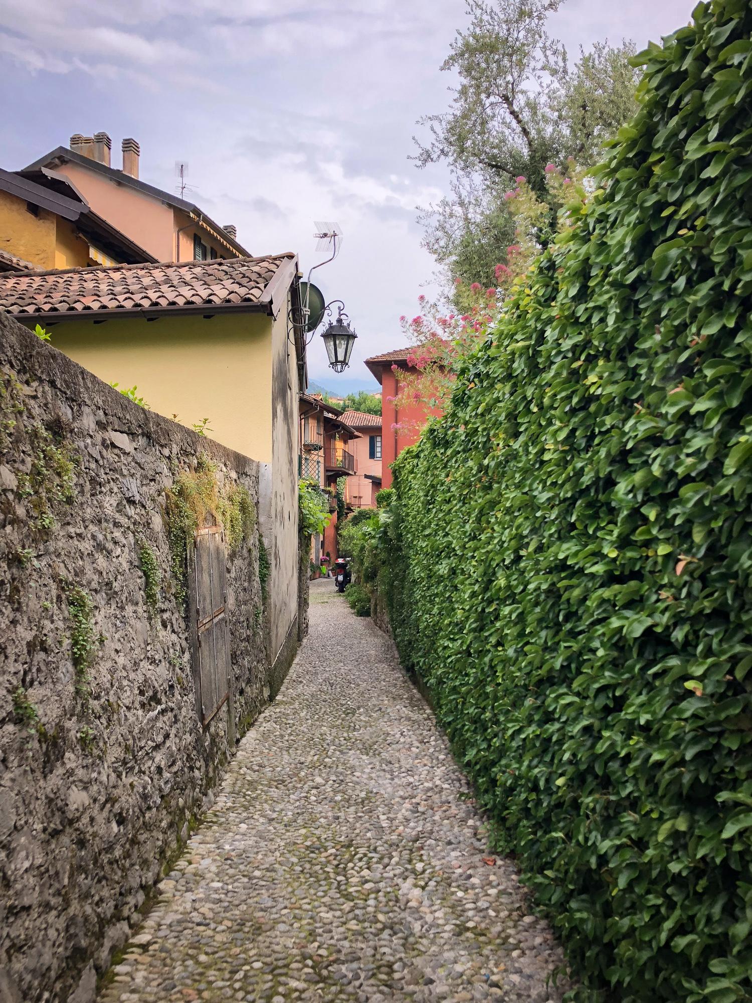 Streets of Pescallo in Bellagio, Lake Como www.caribbeansnowflake.com.jpg