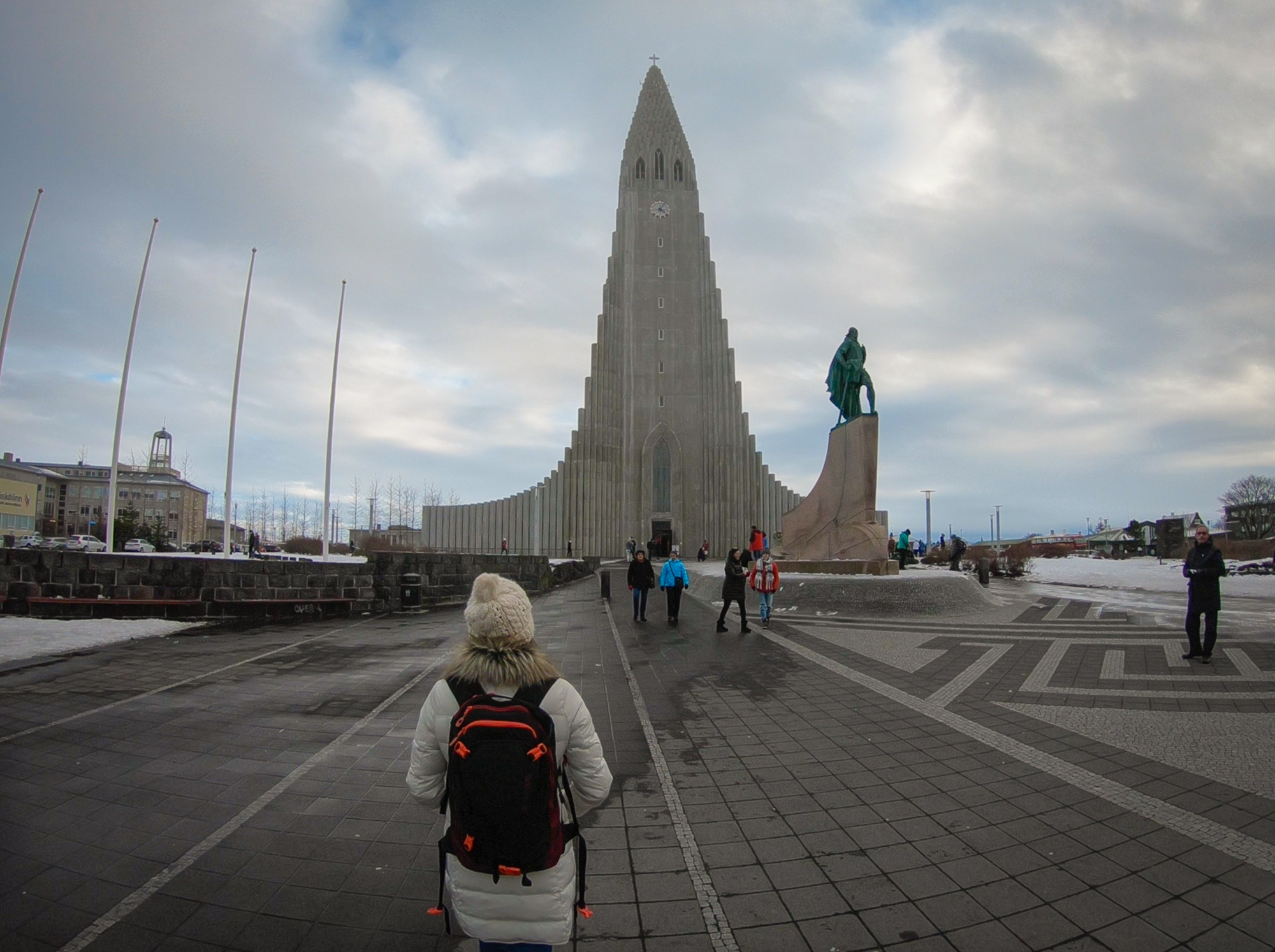 Hallgrímskirkja church Iceland www.caribbeansnowflake.com
