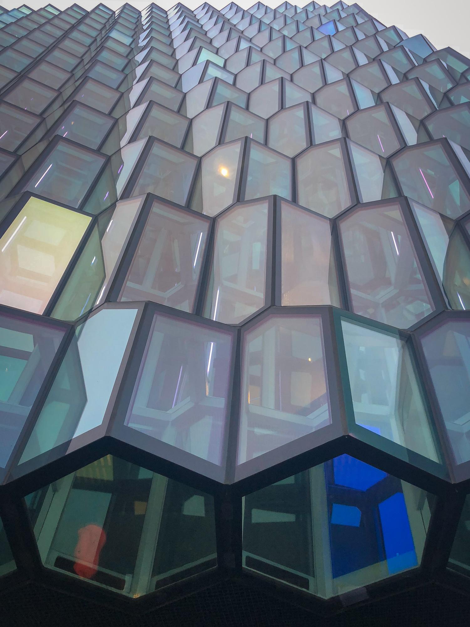 Harpa Concert Centre Reykjavik Iceland www.caribbeansnowflake.com