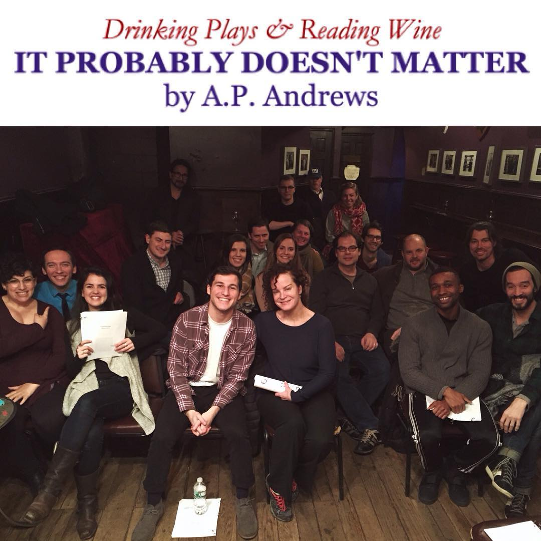 22. *IT PROBABLY DOESN'T MATTER by A.P. Andrews