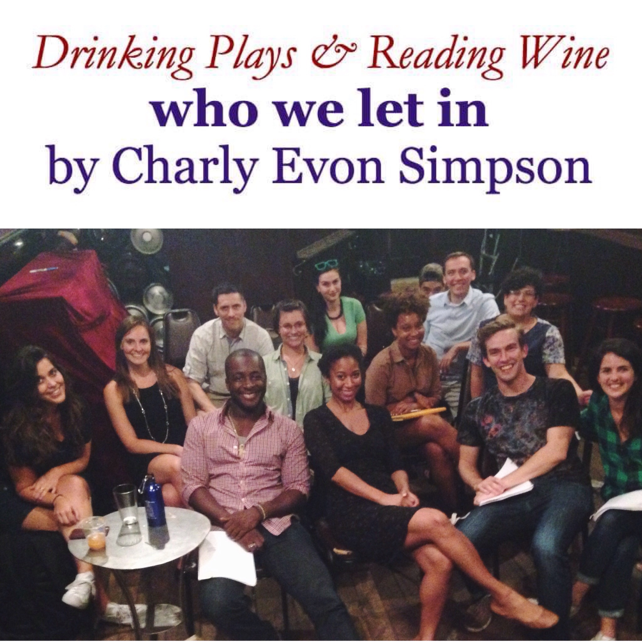 26. *WHO WE LET IN by Charly Evon Simpson