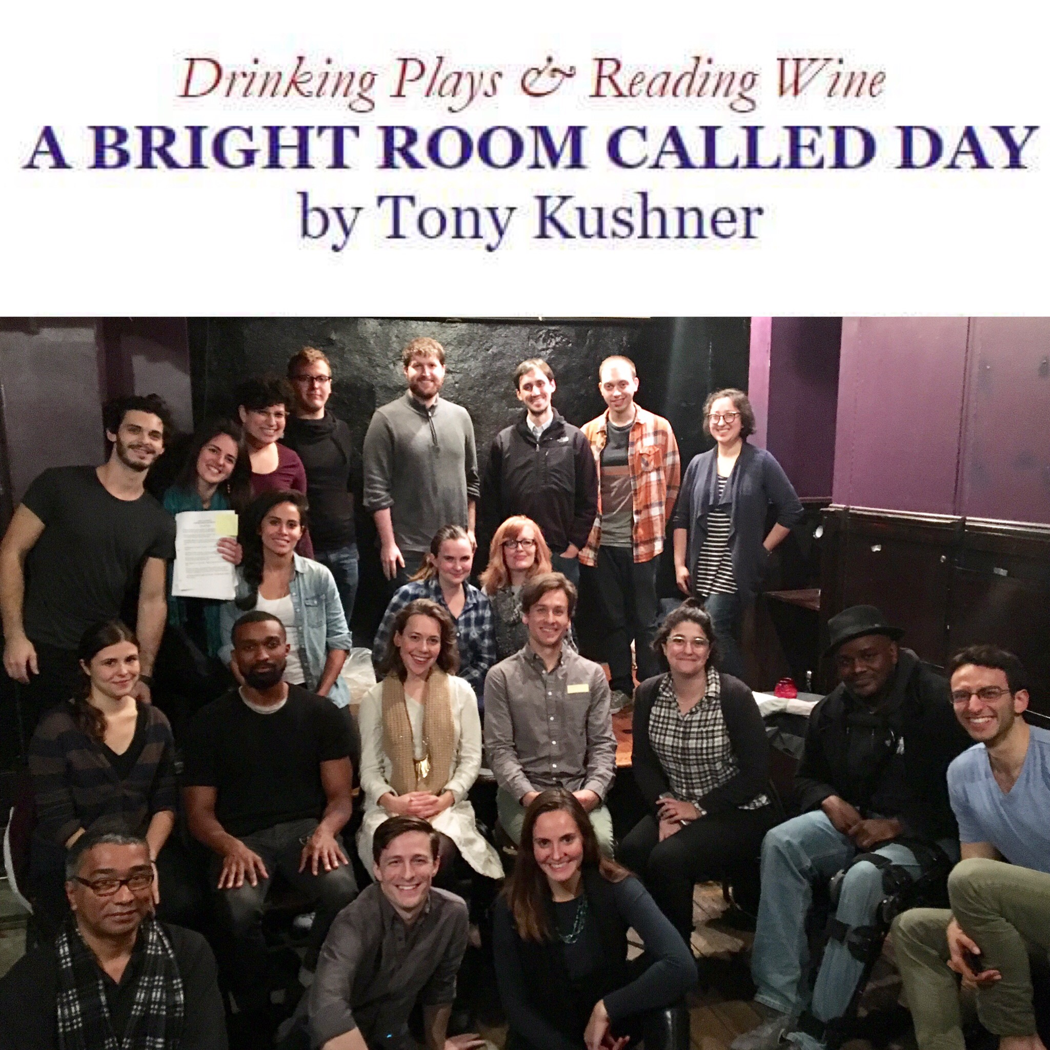 29. A BRIGHT ROOM CALLED DAY by Tony Kushner