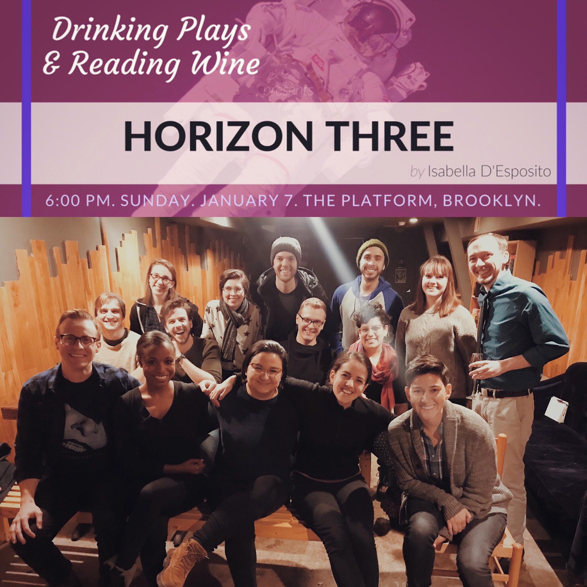 32. *HORIZON THREE by Isabella D'Esposito