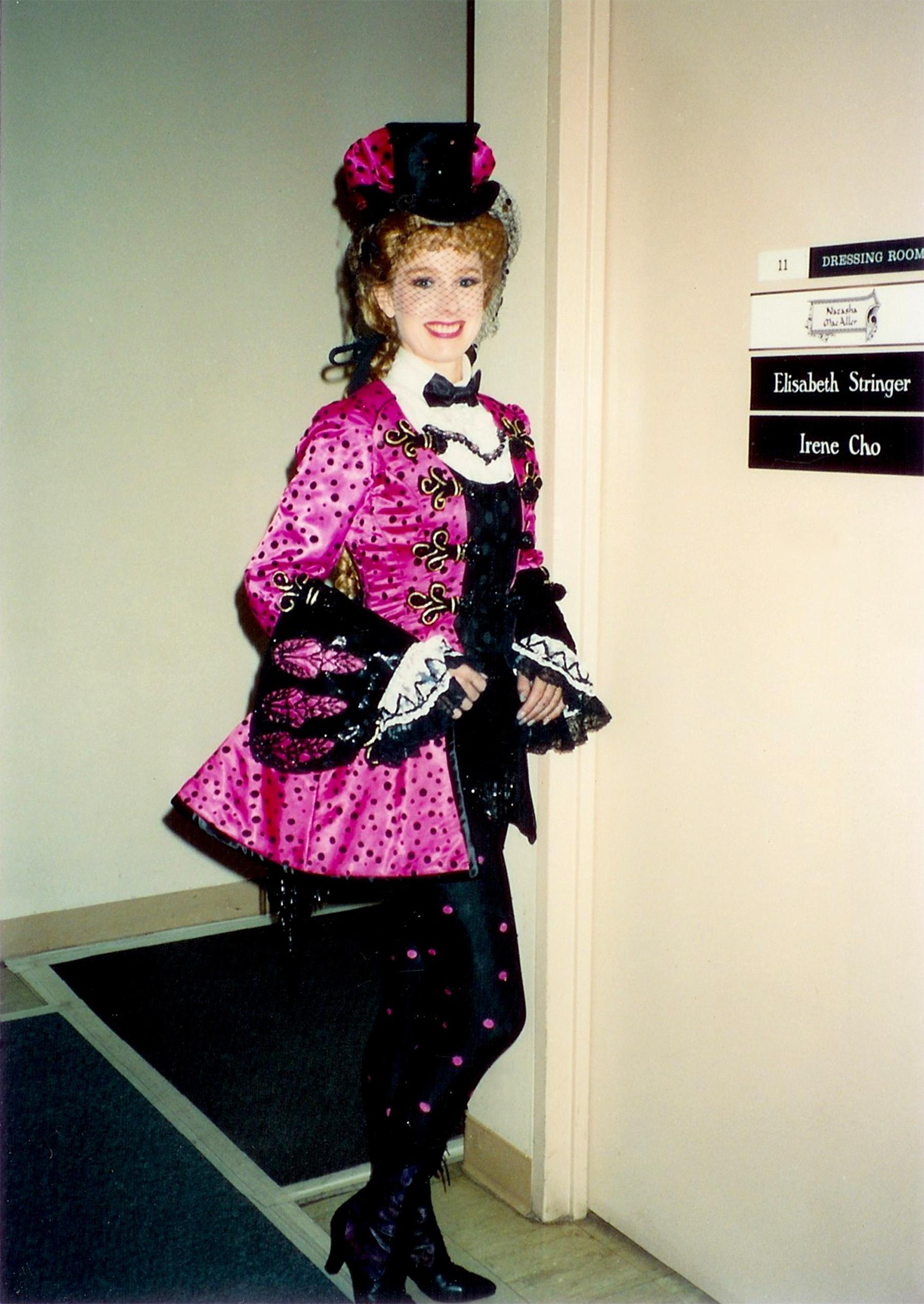 "Phantom of the Opera principal role of ""Meg"" Ahmanson Theatre, Los Angeles."