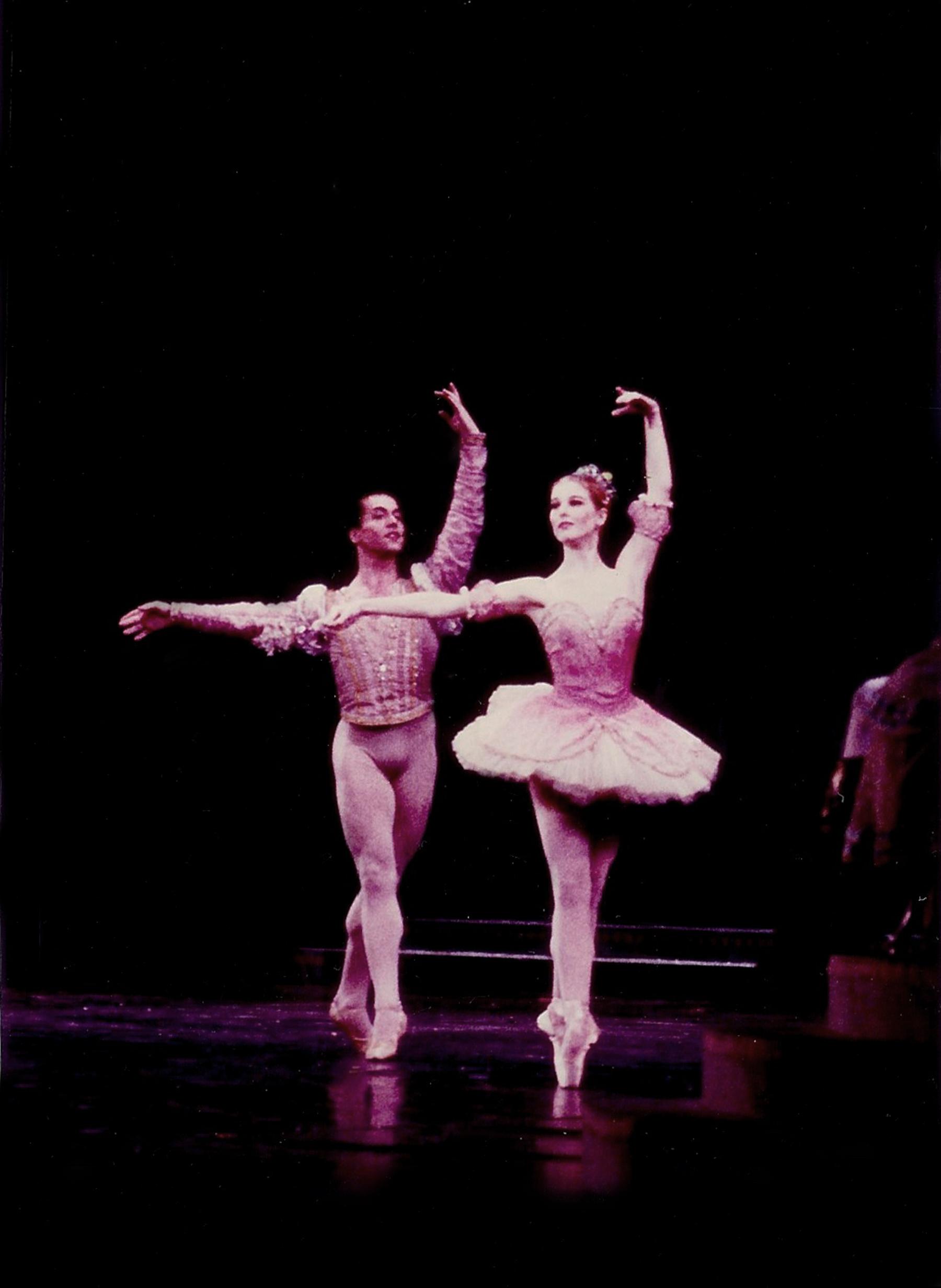 Nutcracker Sugar Plum Fairy with Karl Condon as Cavalier –Boston Ballet.