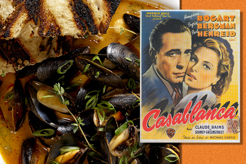 Sausal's Angry Mussels are steeped in a chili cream broth
