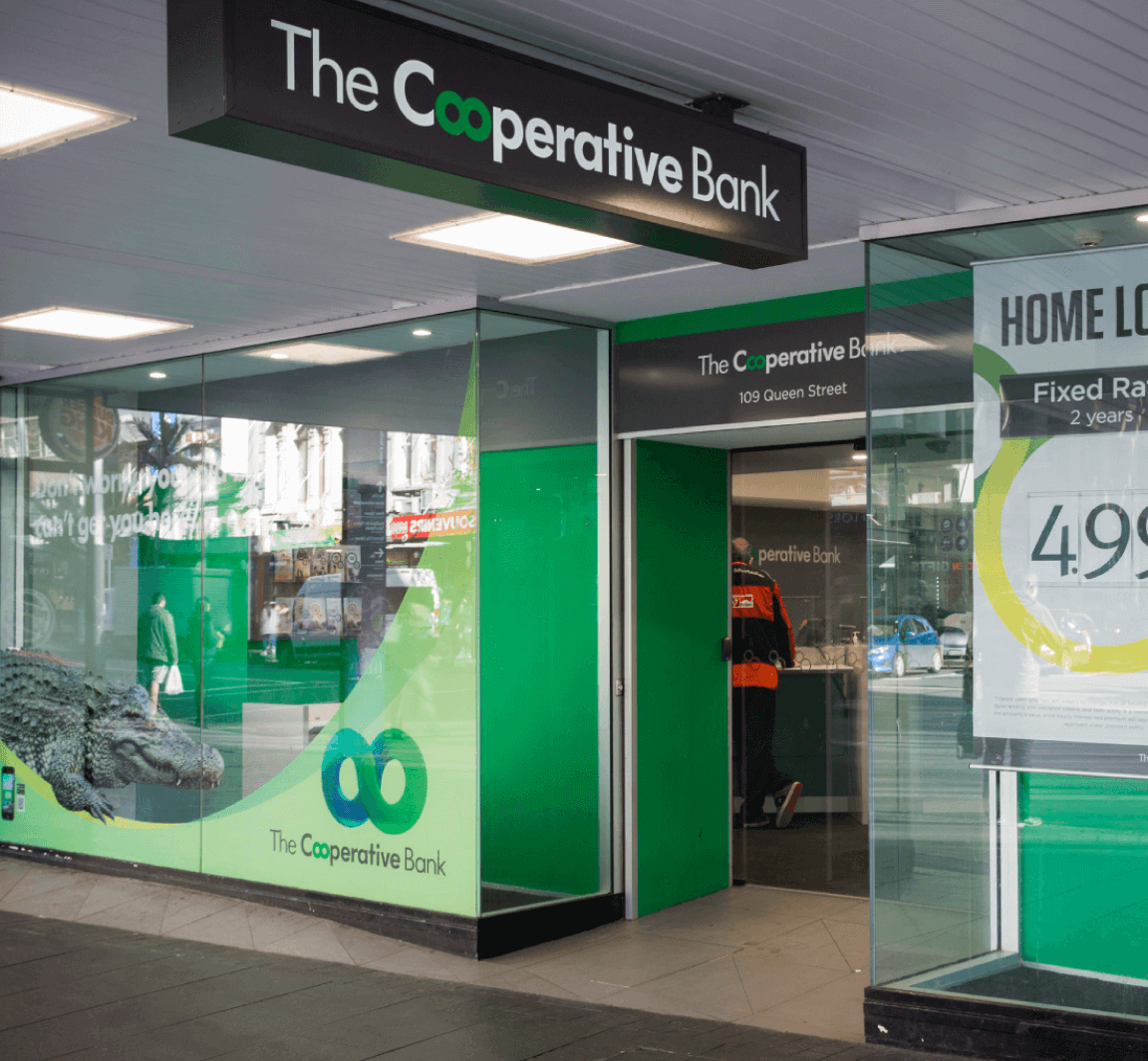 The Co-operative Bank  Auckland and Wellington  Corporate Real Estate Services