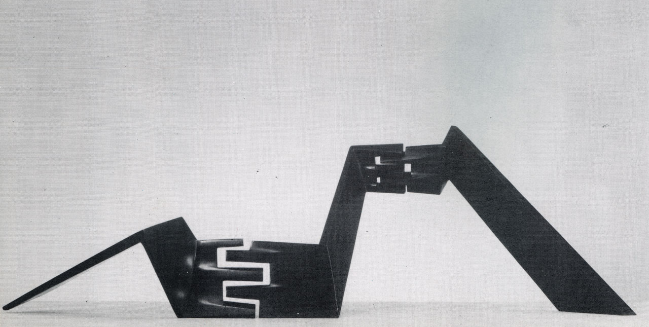 1976 Exhibition %22Architectural Model II%22 - brass - 1975.jpg