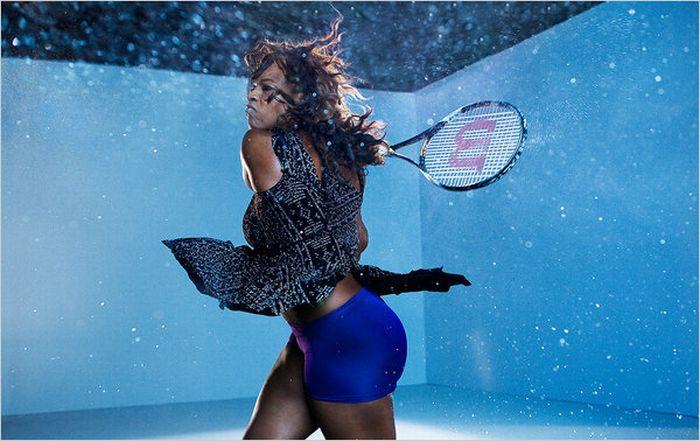 Dewey Nicks: Serena Williams