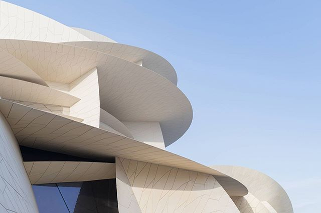 The Desert Rose by @ateliersjeannouvel | #helloQatar 🇶🇦