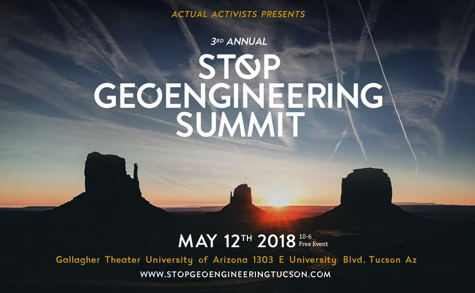 Promo image for the chemtrails summit