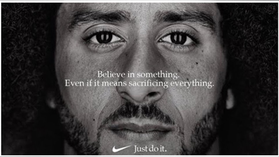 Nike's newly released ad campaign featuring Colin Kaepernick