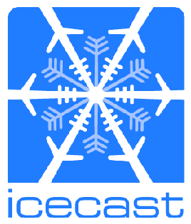 Icecast MP3 Stream - Plays on almost any device, click the logo