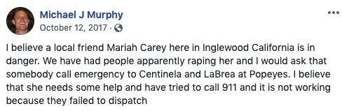A surprise addition to his narrative was that record label owner and former pop star Mariah Carey is also kidnapped by the same bad guys who are taking advantage of Michael, so if you help MJM get his money back, there may also be a famous rich woman who will be appreciative.