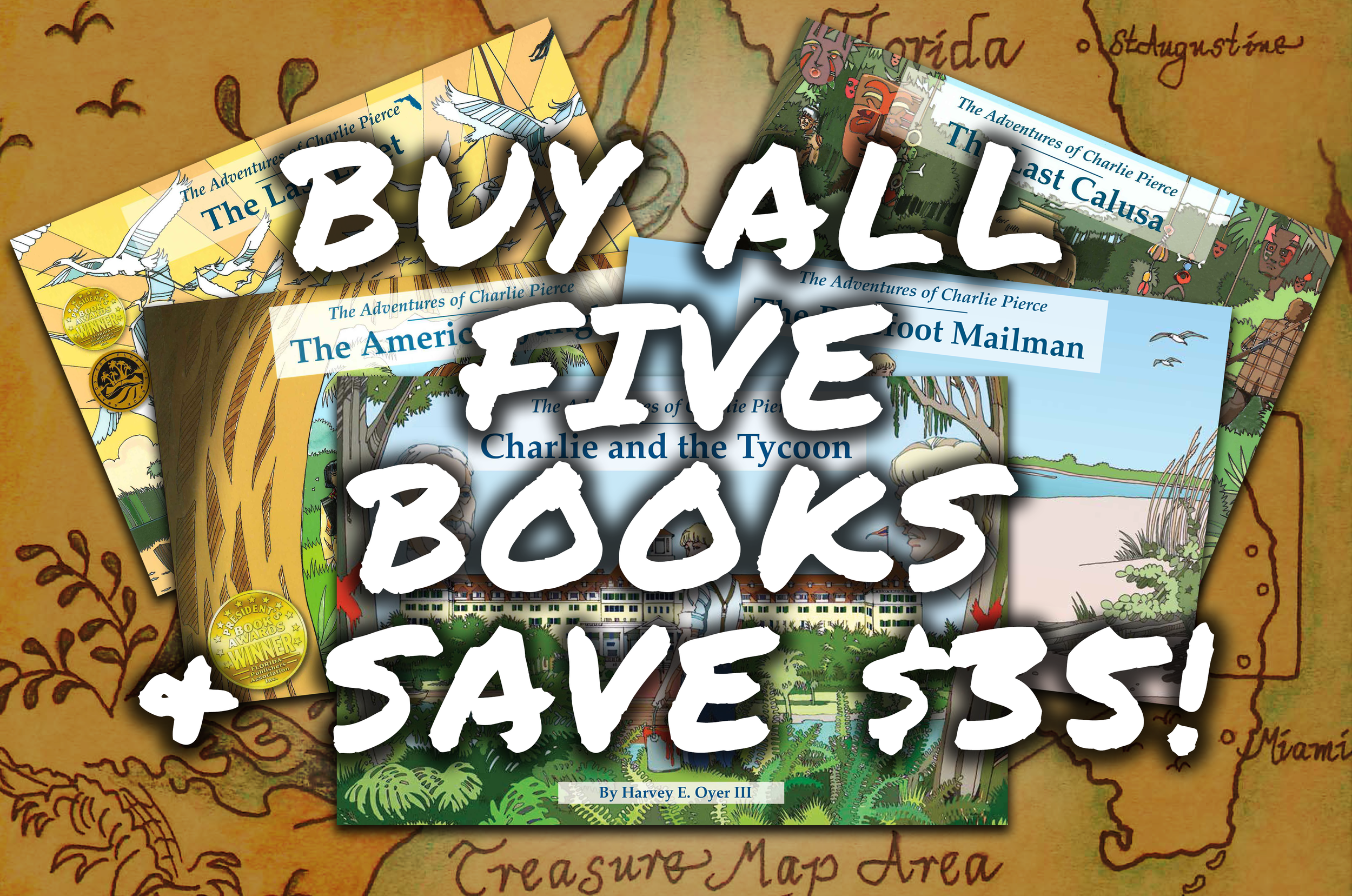Buy All Five Books and Save!