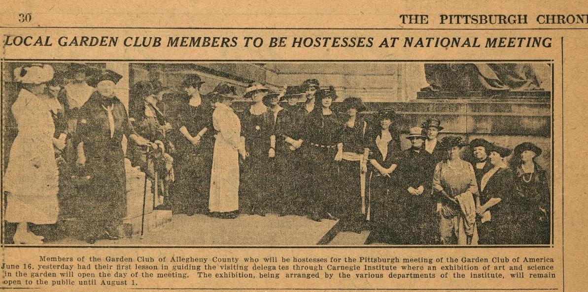 GCAC hosts GCA's National Meeting in 1916