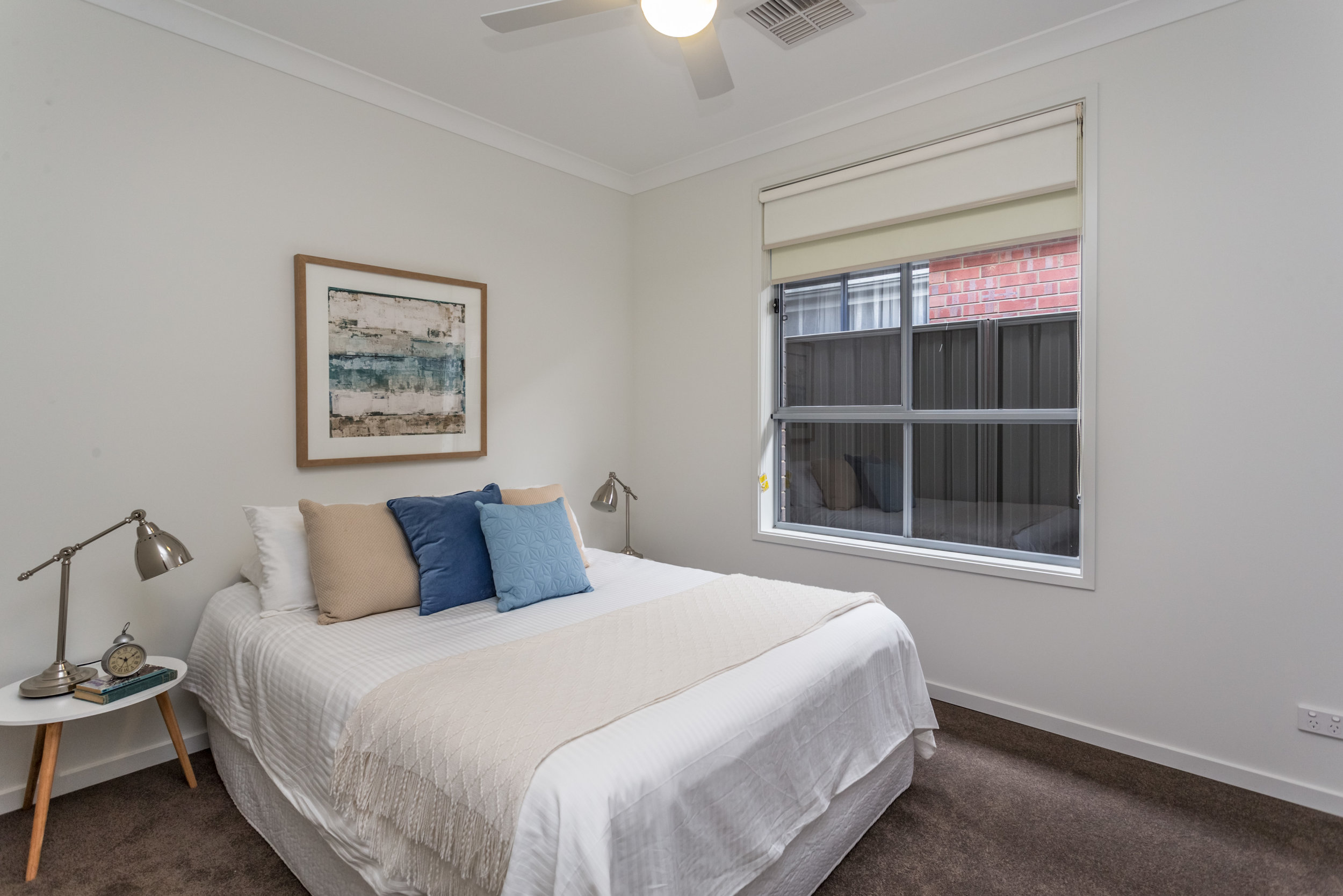 Second bedroom with built-in robe