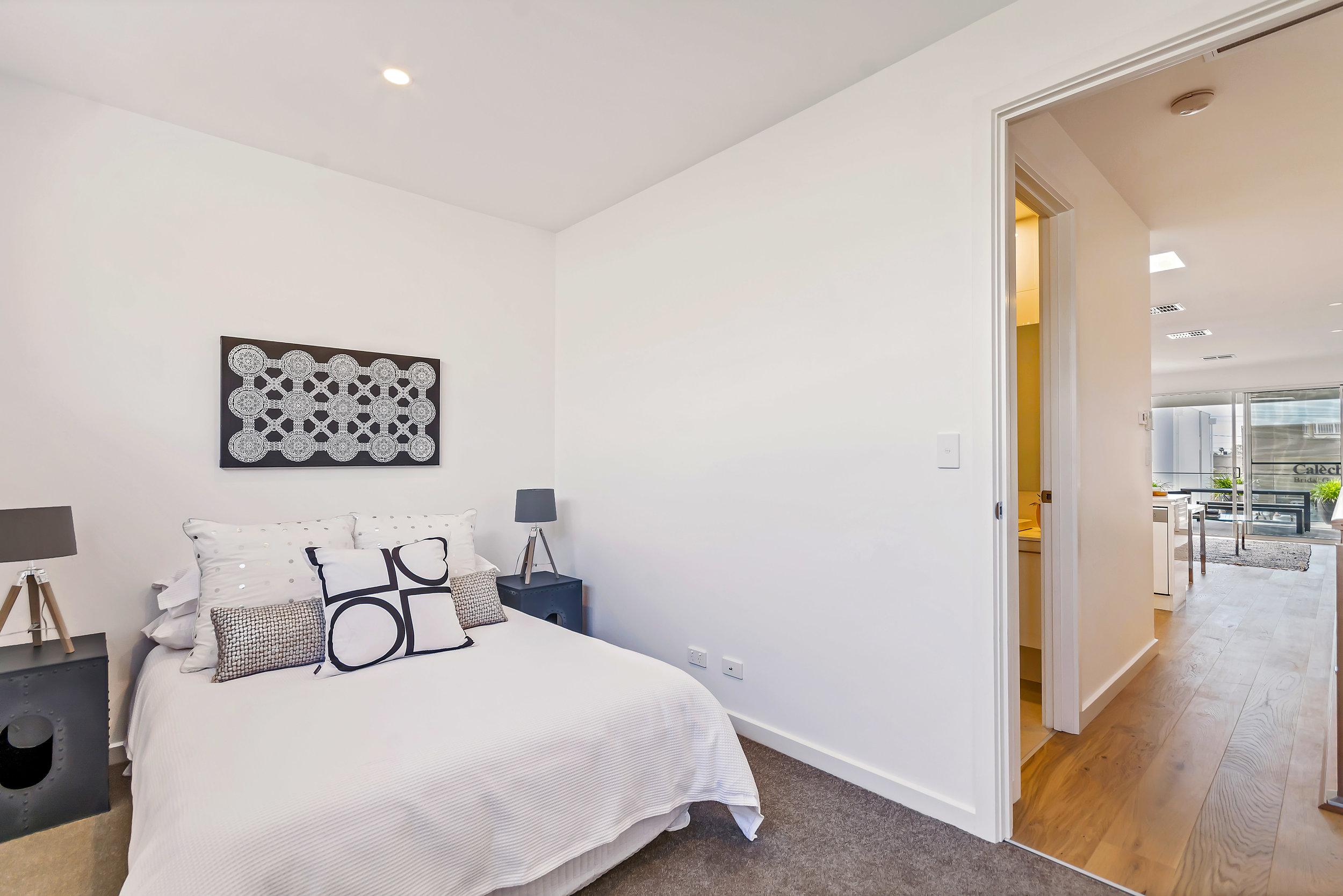 Bedroom 2 with floor to ceiling built-in robe