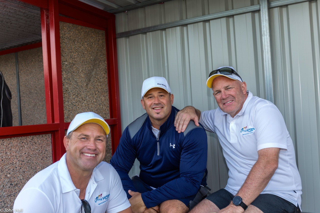 Tony Modra, Craig Watts and Pappa Bear Andrew Jarman, thank you for your support, sportsmanship and positive spirit.