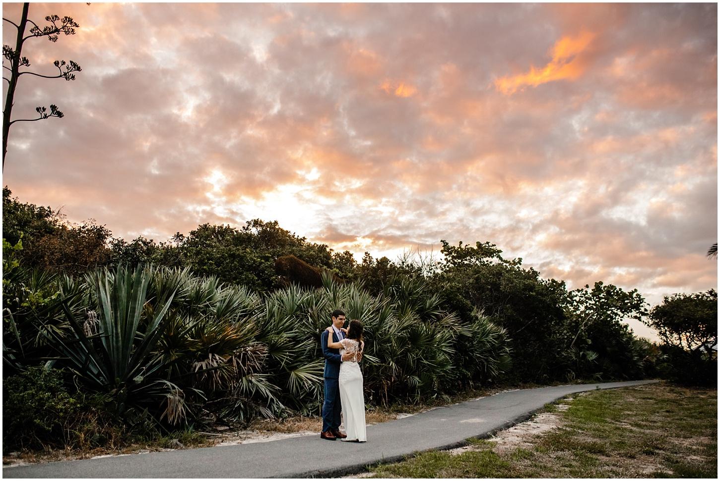 Loggerhead beach wedding