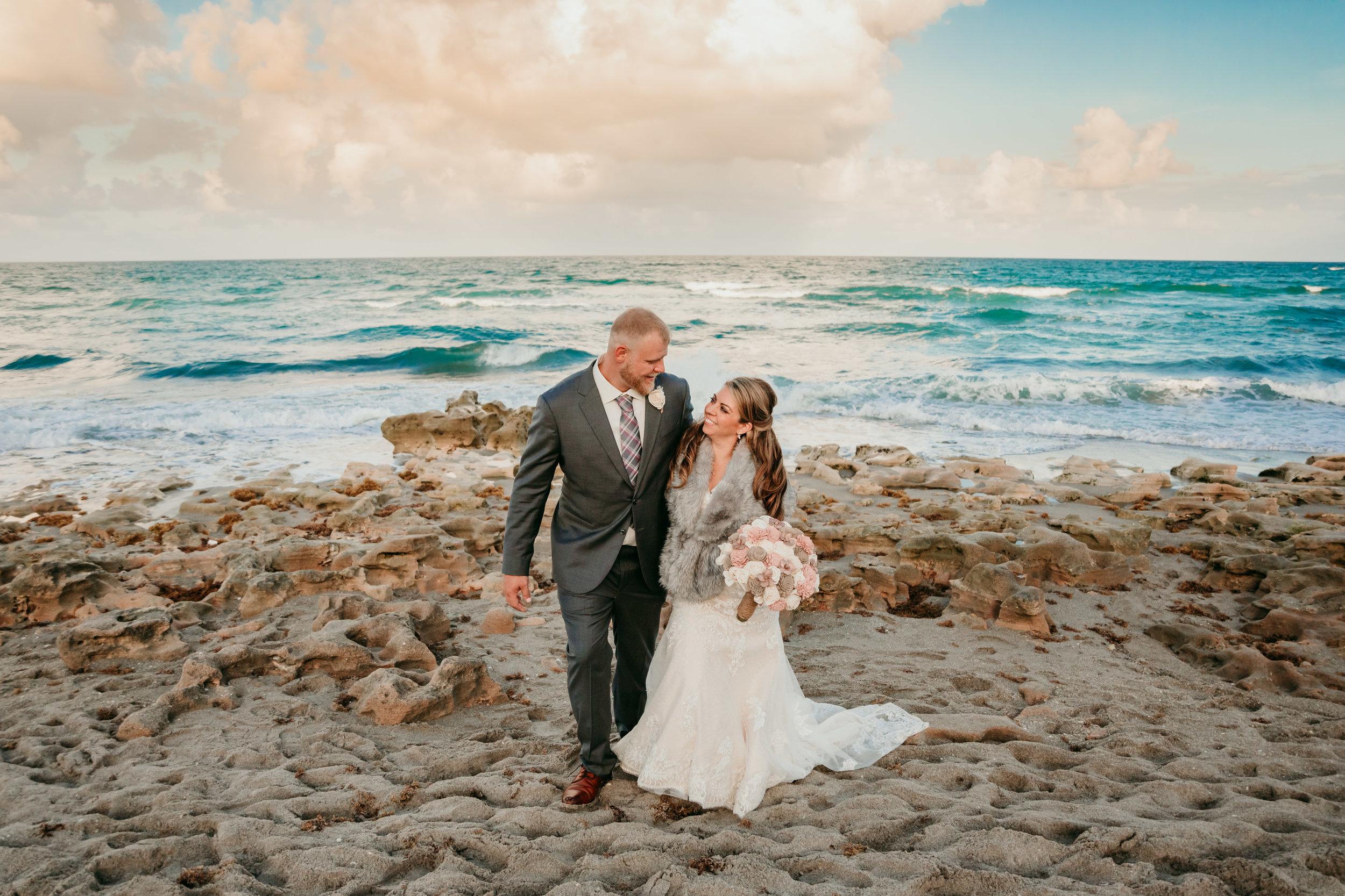 Jupiter Beach Wedding