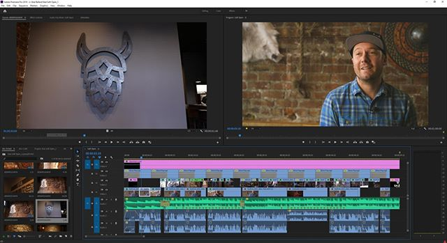 #TimelineTuesday 🎥✂️15 minute interview cut down to a one-minute consumable edit.⠀ •⠀⠀⠀ #luts #colorgrading #colorcorrection #filmeditor #postproduction #editing #coloring #filmluts #adobepremiere #filmmaking #videoproduction #directorofphotography #filmmaking #filmmaker #videomaker #videomaking #behindthescenes #bts #filmmakersworld #filmcommunity #filmproduction #filmmakinglife