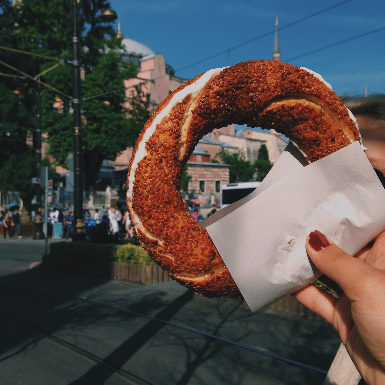 Turkish bagels