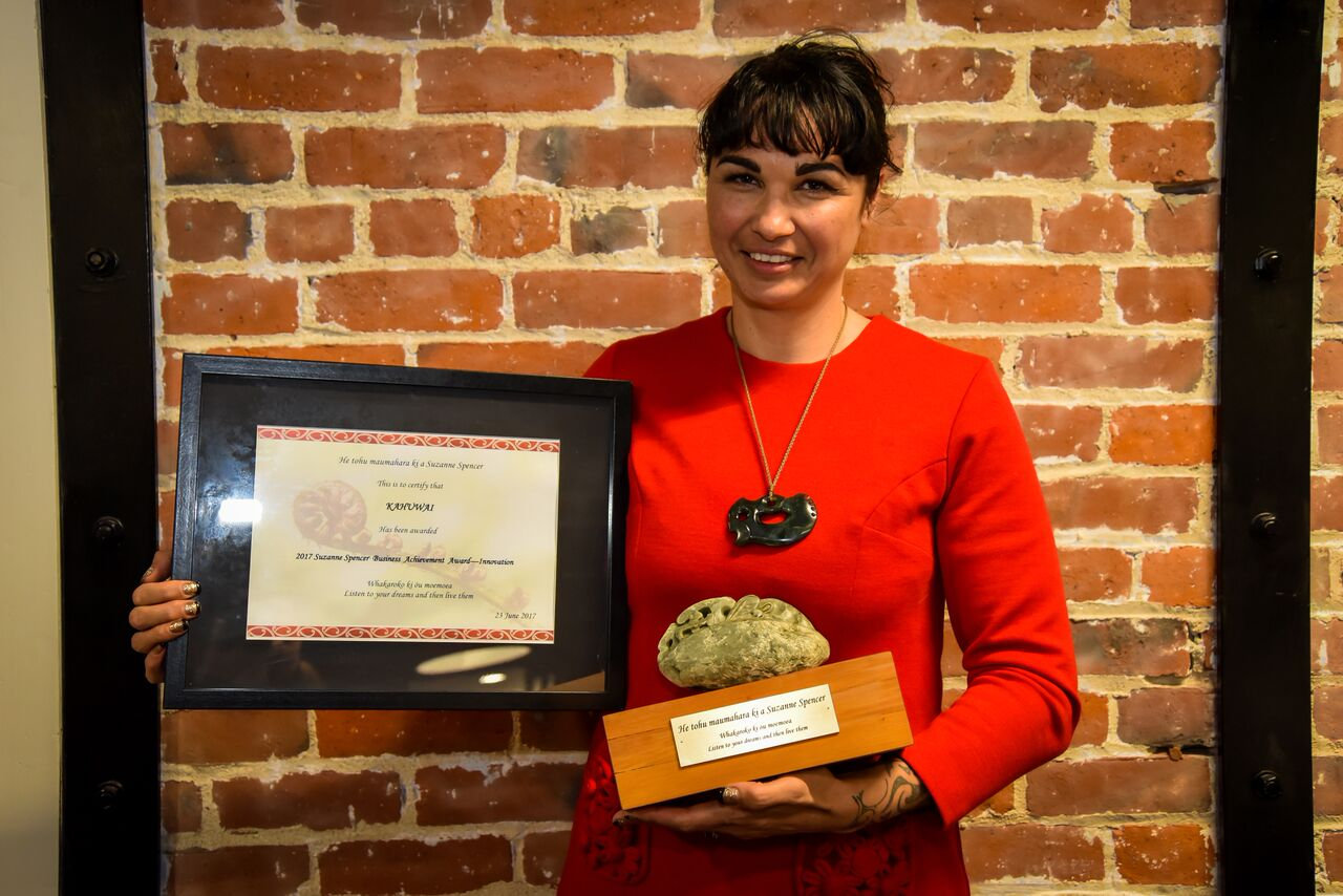 Amber Bridgman, 2017 Award Recipient