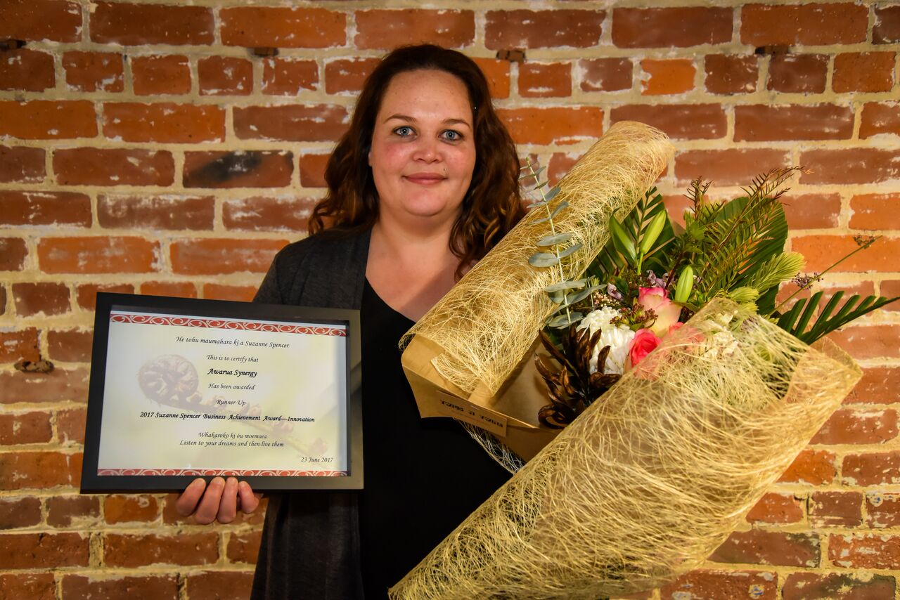 Sumaria Beaton, General Manager, Awarua Synergy - Runner up
