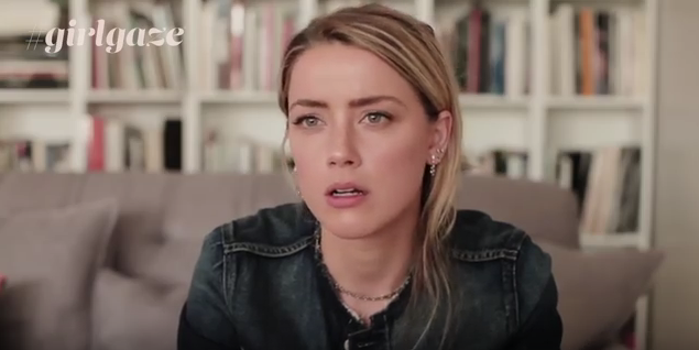 Amber Heard speaks up on YouTube here:  https://www.youtube.com/watch?v=BwqAP9mICR0    I'm with you, Amber. <3   And how much integrity does it show that Amber donated the entire proceeds from her divorce from Johnny Depp ($7 million) to the  American Civil Liberties Union  and the  Children's Hospital Los Angeles .  [71]