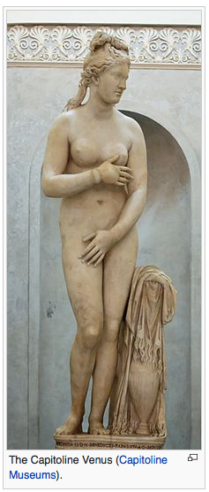 This is one of the statues covered up in Rome during Iran's President Hassan Rouhani visit. For sure he would have fainted if he saw it. He must be afraid of Love. Oh, The statue of Capitoline Venus. Love, Love, Love… Get a grip people.  https://en.wikipedia.org/wiki/Capitoline_Venus