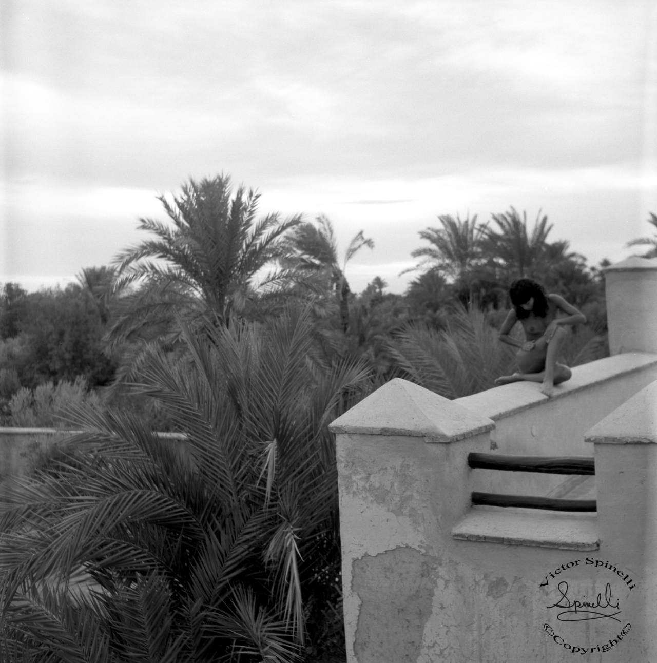 Uncovered in Morocco. An image from the archive…