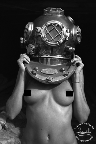 """Available now. Limited Edition print series of """"Diver UP"""". Kodak professional C-print 13x18 inches. Signed Edition of 55. $200. Certificate of Authenticity included. Original photograph created in Ibiza, Spain in 2005. Click Link  http://www.spinelligalleries.com/shop/diver-up-limited-edition-print"""