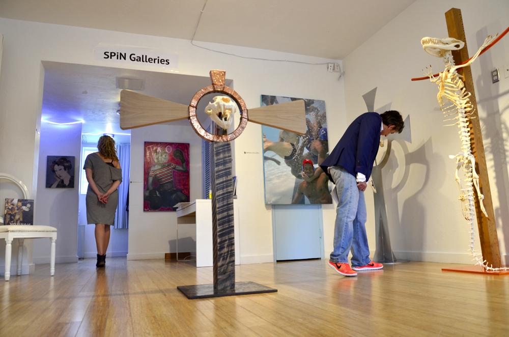 SPiN Galleries at Aqua Art Miami.