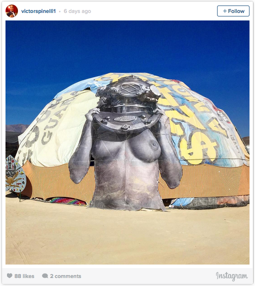 Here's All The Art You Missed At Burning Man This Year .   In The Huffington Post. Click this LINK:   http://huff.to/1NBV8f0