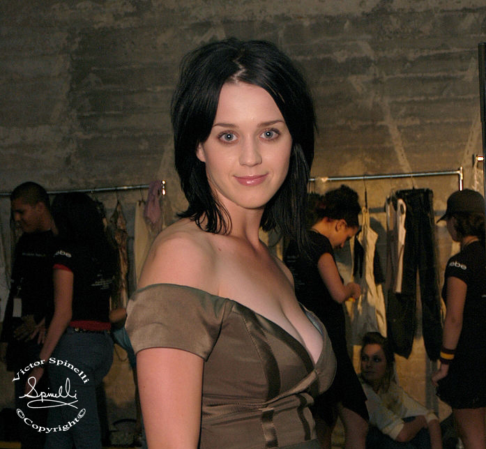 This is a very early portrait that I took of Singer/songwriter Katy Perry backstage at the Mercedes-Benz fashion show in LA. Enjoy