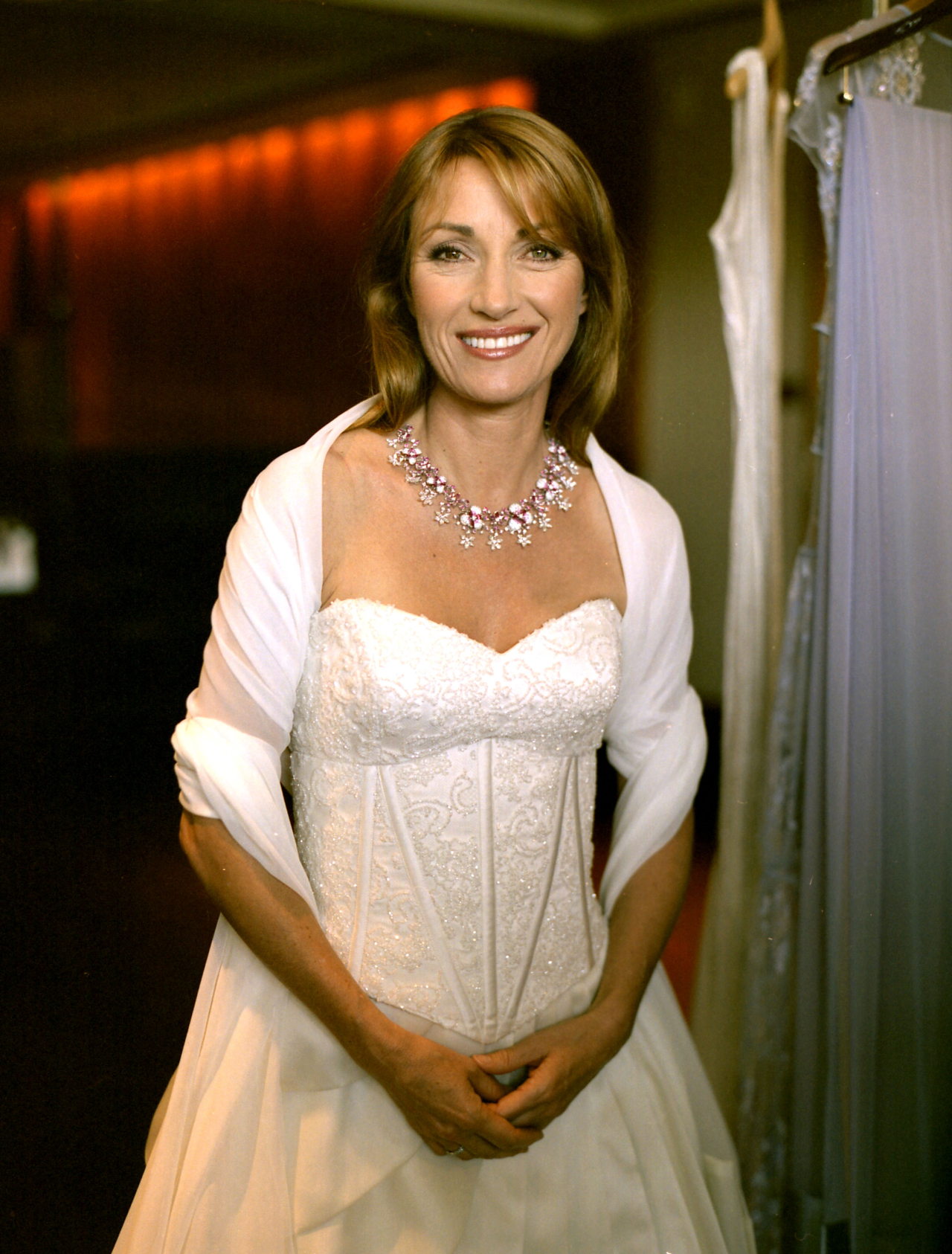 """A portrait I took of Golden Globe and Emmy Award winning actress, Jane Seymour. She has also been awarded The Order of the British Empire (OBE). Most notable silver screen appearances have been as the """"James Bond Girl"""" Solitaire in """"Live and Let Die"""" and also on  East of Eden.     Shot with a Contax 645. ©Victor Spinelli"""