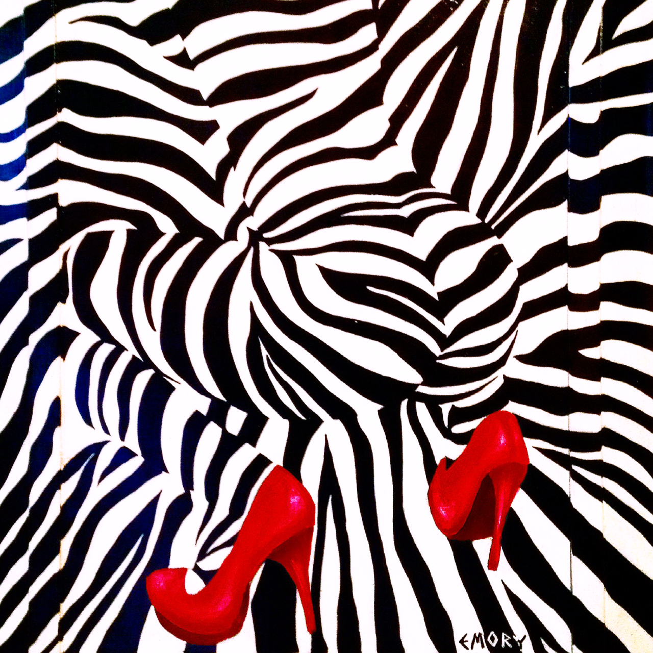 Zebra LOVE by Artist, Blake Emory at the SPiN Galleries in Chelsea NYC. This Thursday, June 26th. 6-8PM. This will be a great show!