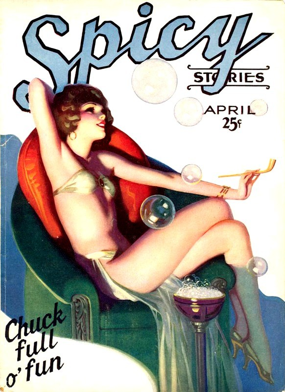 pulpfrog :     Spicy Stories - Enoch Bolles